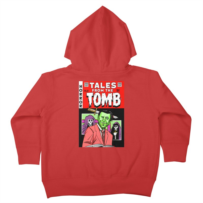 Tales from the Tomb Kids Toddler Zip-Up Hoody by Krishna Designs
