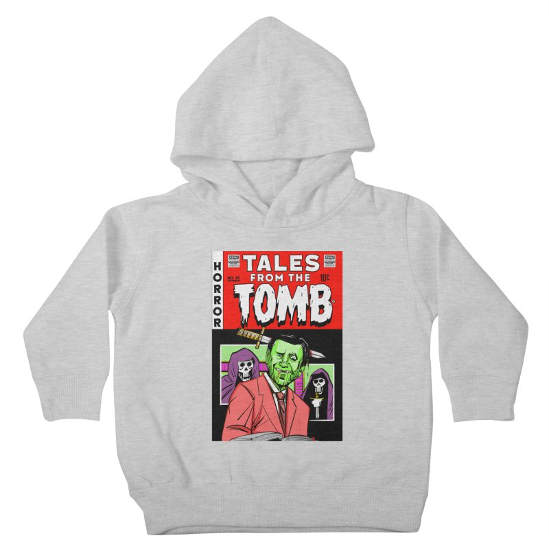 Tales from the Tomb Kids Toddler Pullover Hoody by Krishna Designs