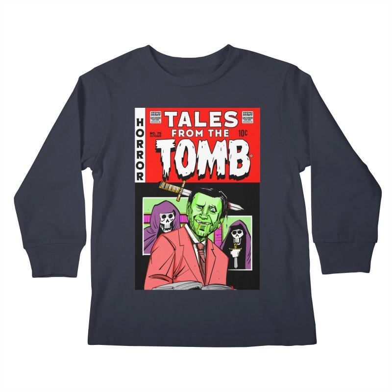 Tales from the Tomb Kids Longsleeve T-Shirt by Krishna Designs