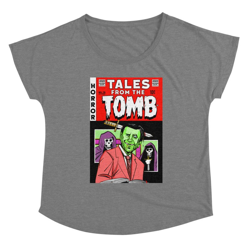Tales from the Tomb Women's Scoop Neck by Krishna Designs
