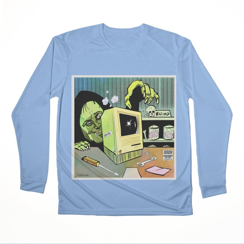 Igor's CPU Men's Longsleeve T-Shirt by Krishna Designs