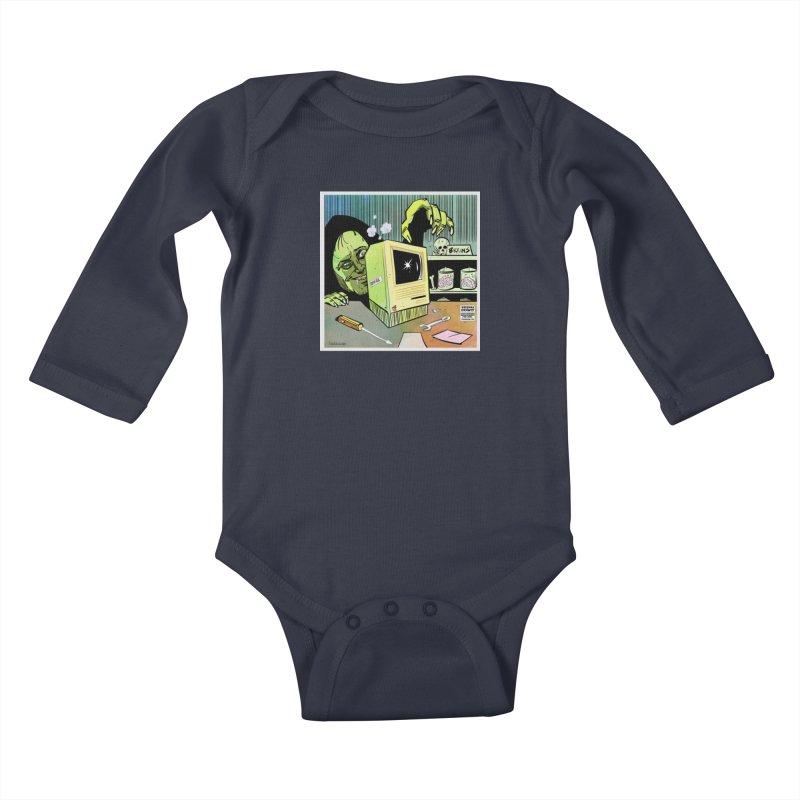 Igor's CPU Kids Baby Longsleeve Bodysuit by Krishna Designs