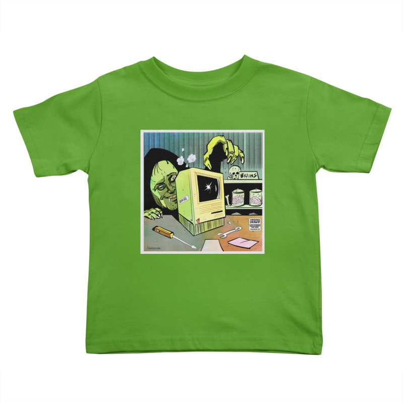 Igor's CPU Kids Toddler T-Shirt by Krishna Designs