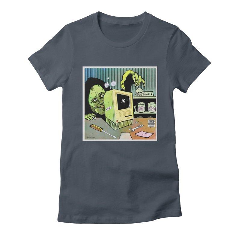 Igor's CPU Women's T-Shirt by Krishna Designs