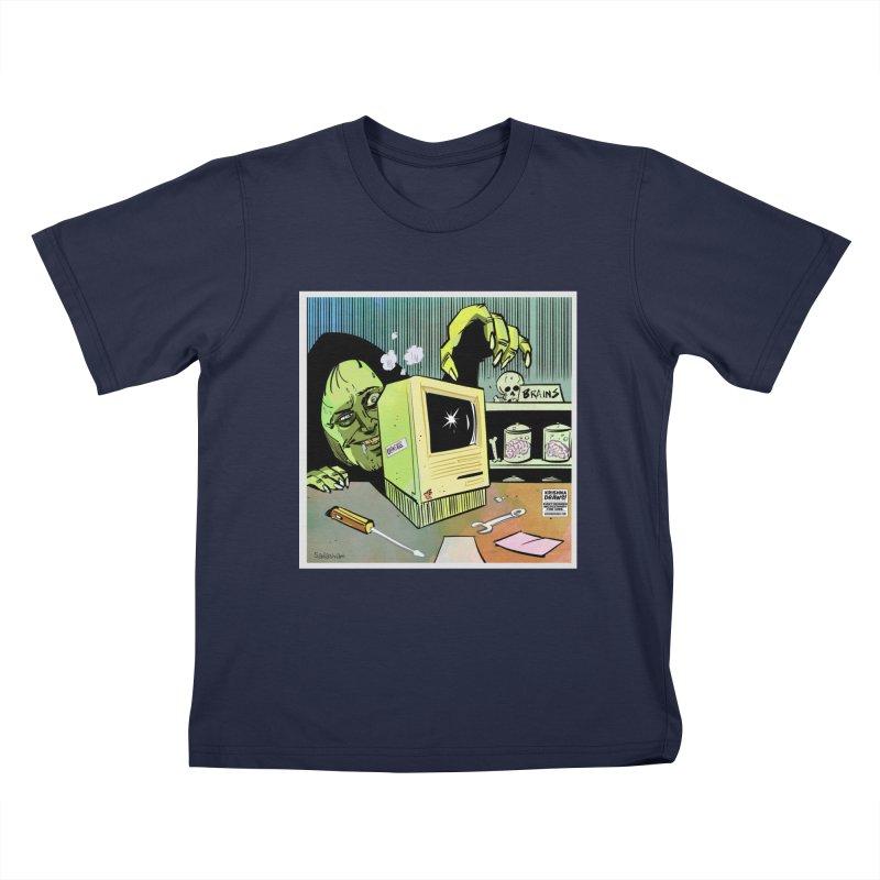 Igor's CPU Kids T-Shirt by Krishna Designs