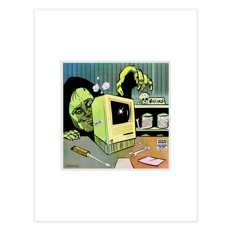 Igor's CPU Home Fine Art Print by Krishna Designs