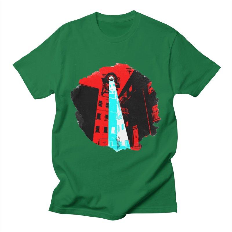 Robot Attack! Women's T-Shirt by Krishna Designs
