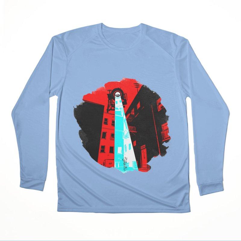 Robot Attack! Women's Longsleeve T-Shirt by Krishna Designs