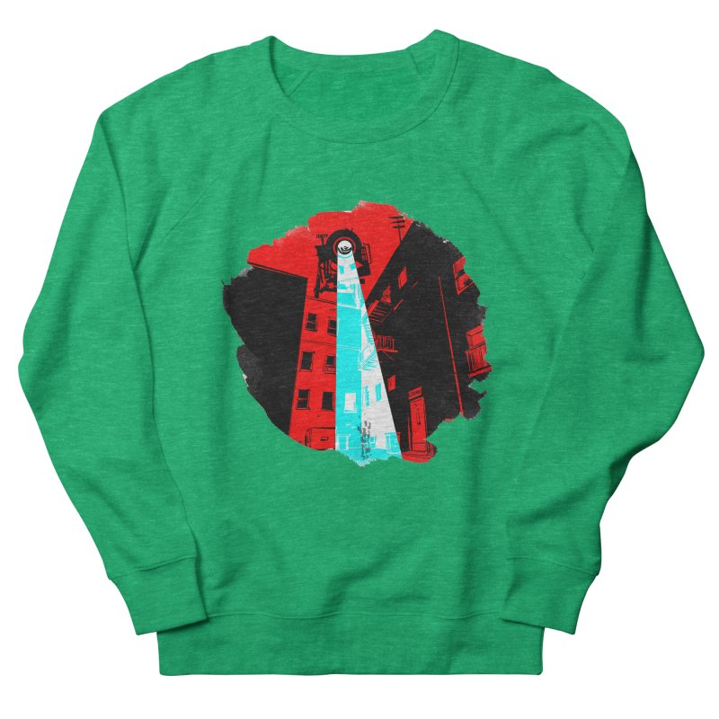 Robot Attack! Women's Sweatshirt by Krishna Designs