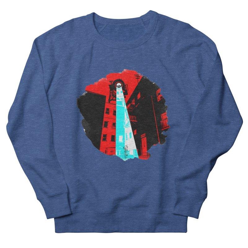 Robot Attack! Men's Sweatshirt by Krishna Designs