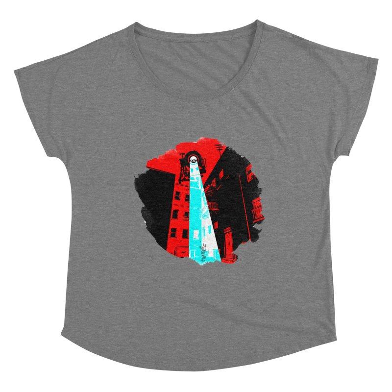 Robot Attack! Women's Scoop Neck by Krishna Designs
