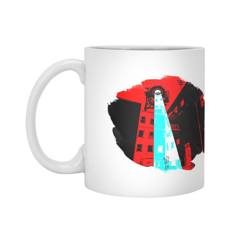 Robot Attack! Accessories Mug by Krishna Designs