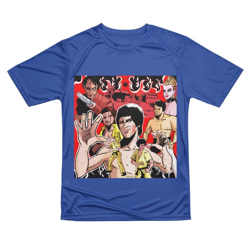 Dragon Warrior Men's T-Shirt by Krishna Designs