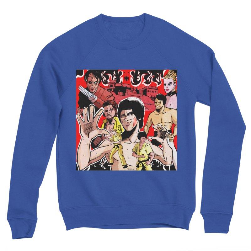 Dragon Warrior Men's Sweatshirt by Krishna Designs