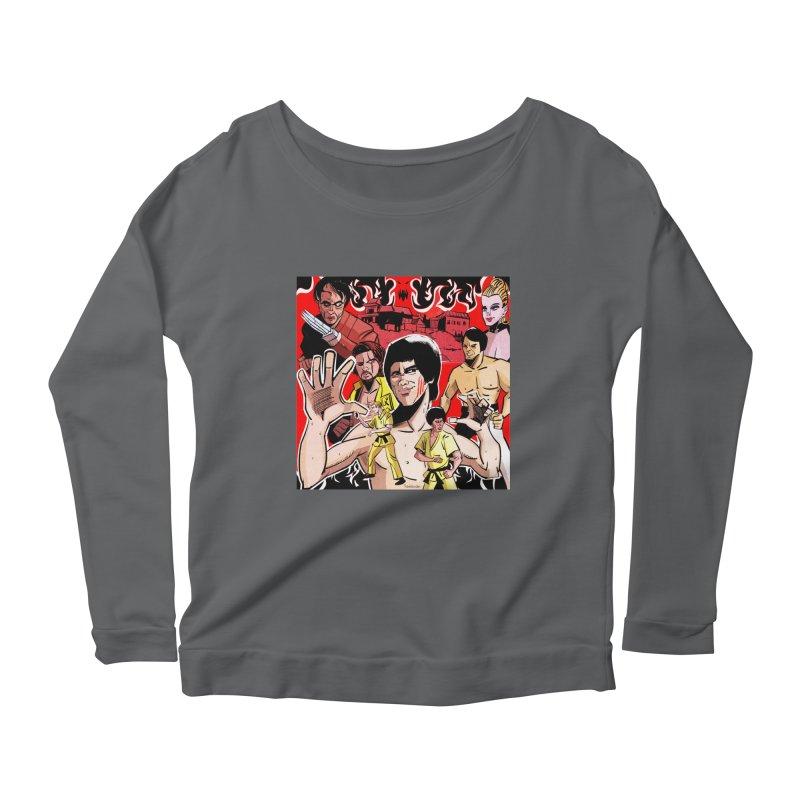 Dragon Warrior Women's Longsleeve T-Shirt by Krishna Designs