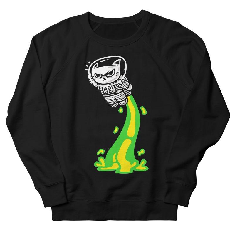 Space Cat  Men's Sweatshirt by krisren28's Artist Shop