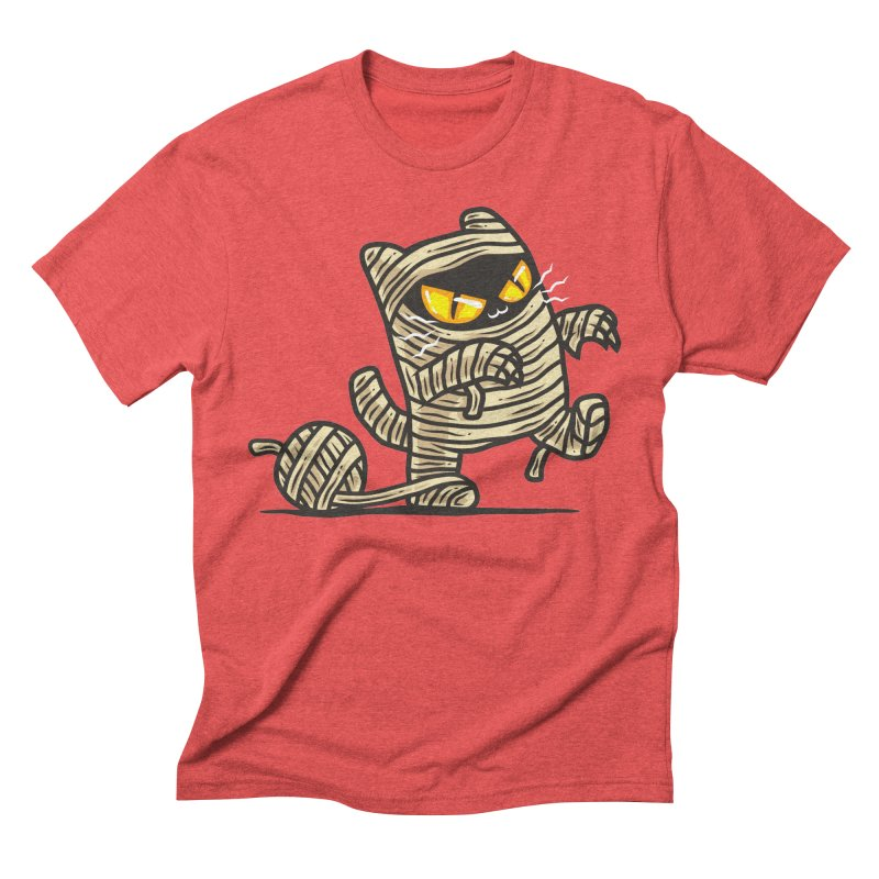 Meowmy Men's Triblend T-shirt by krisren28's Artist Shop
