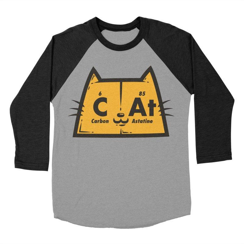Periodic Cat  Men's Baseball Triblend T-Shirt by krisren28's Artist Shop
