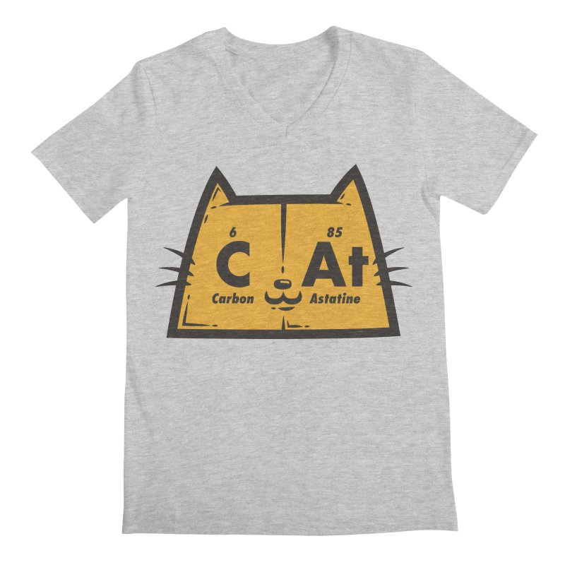 Periodic Cat  Men's V-Neck by krisren28's Artist Shop