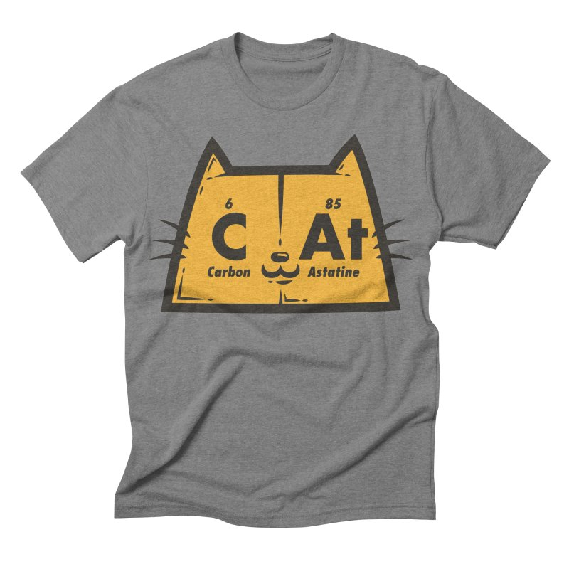 Periodic Cat  Men's Triblend T-shirt by krisren28's Artist Shop