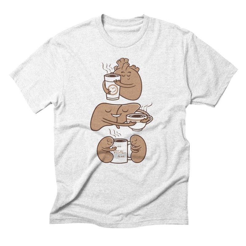 Coffee is Vital to me Men's Triblend T-shirt by krisren28's Artist Shop