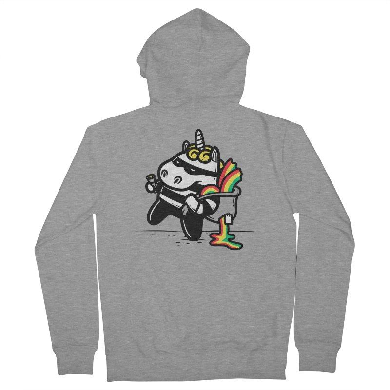 The Rainbow Thief Men's Zip-Up Hoody by krisren28's Artist Shop