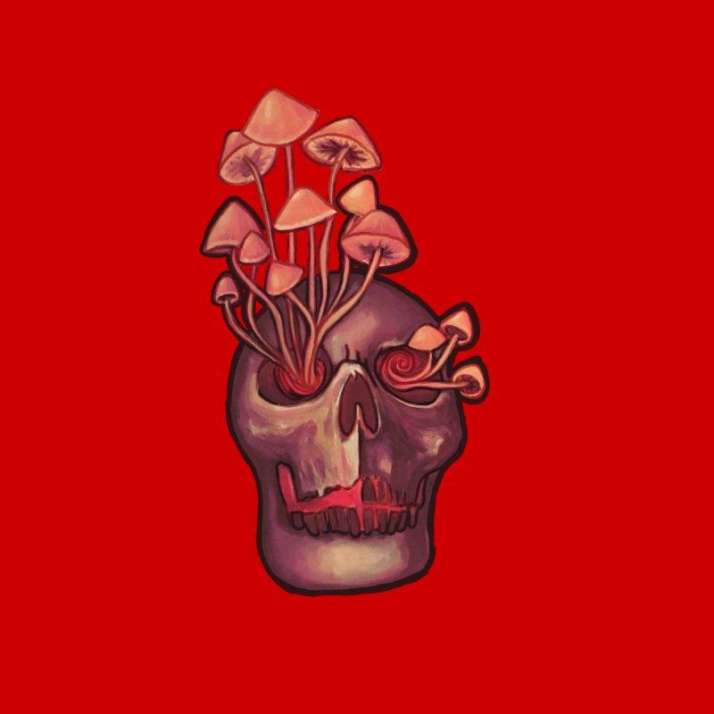 Entheogen Shroom Skull Men's Sweatshirt by Whiski Tee