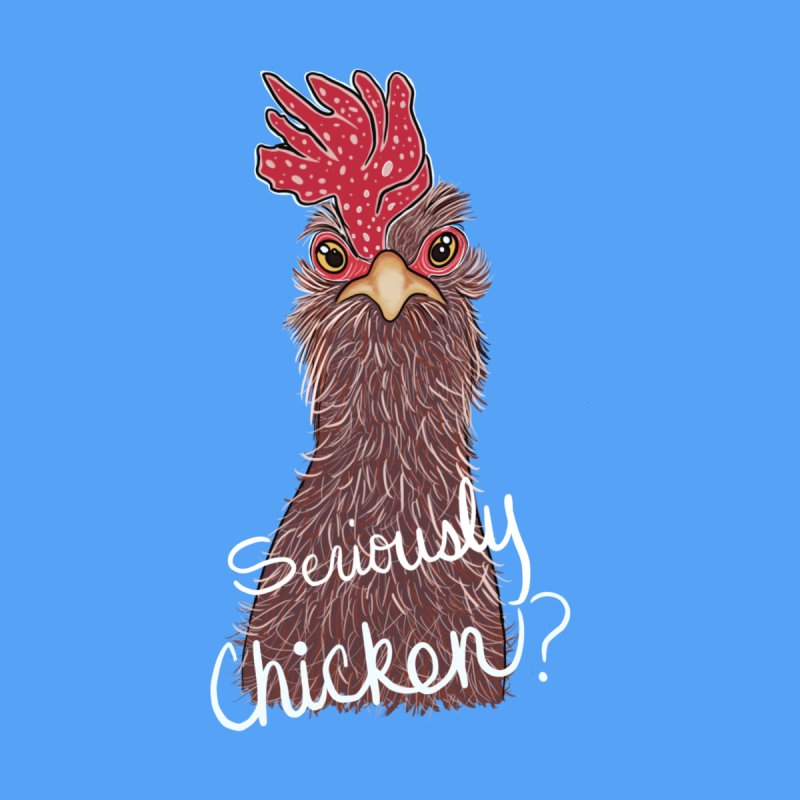 Seriously Chicken Kids Baby Zip-Up Hoody by Whiski Tee