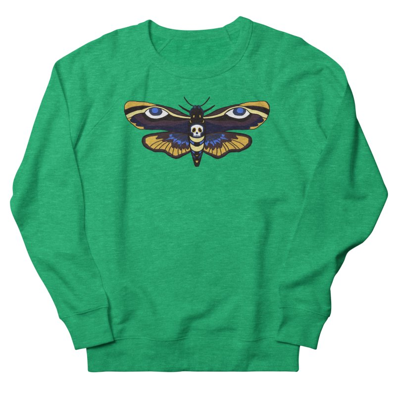 Death Head Moth Women's Sweatshirt by Whiski Tee
