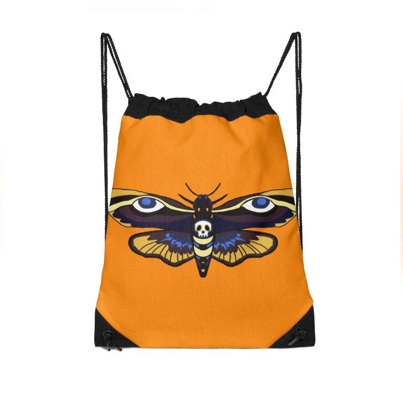 Death Head Moth Accessories Bag by Whiski Tee