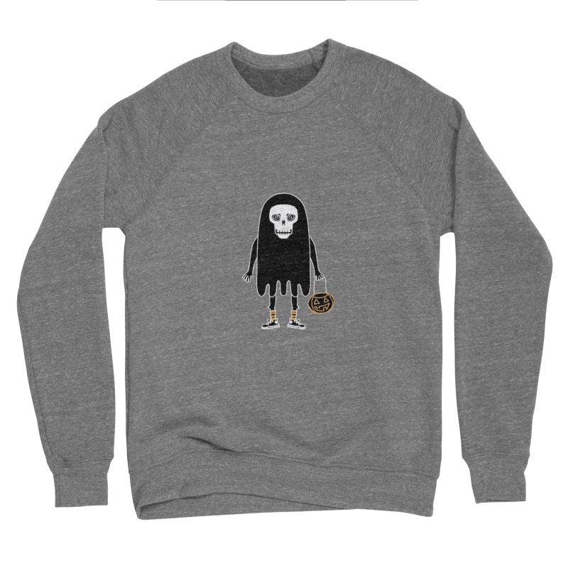 Trick or Treat Skully Ghost Women's Sweatshirt by Whiski Tee