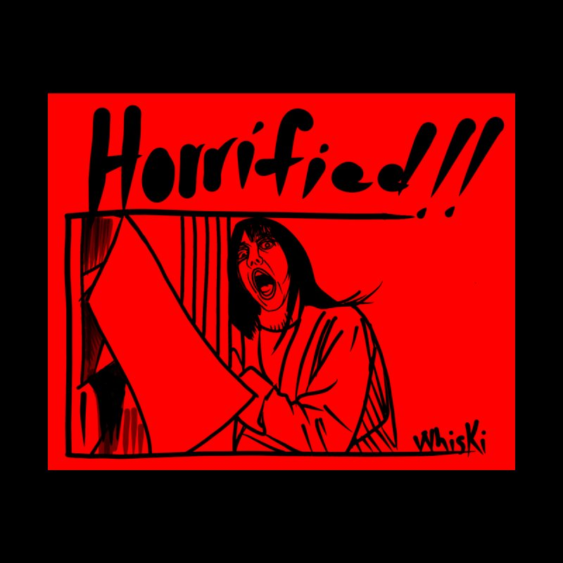 Horrified Seeing Red Edition Women's V-Neck by Whiski Tee