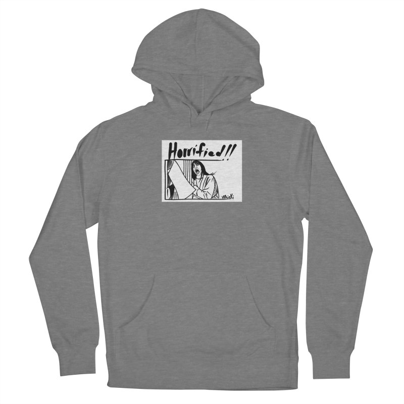 Horrified The Shining Black and White Comic Strip Edition Women's Pullover Hoody by Whiski Tee