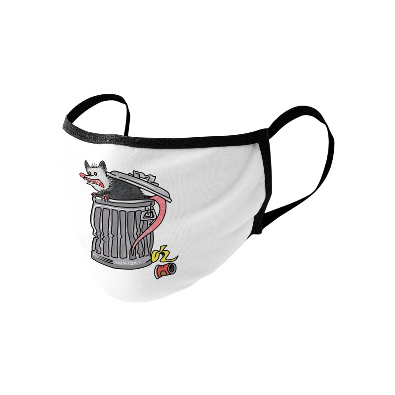 Trash Possum Accessories Face Mask by Whiski Tee