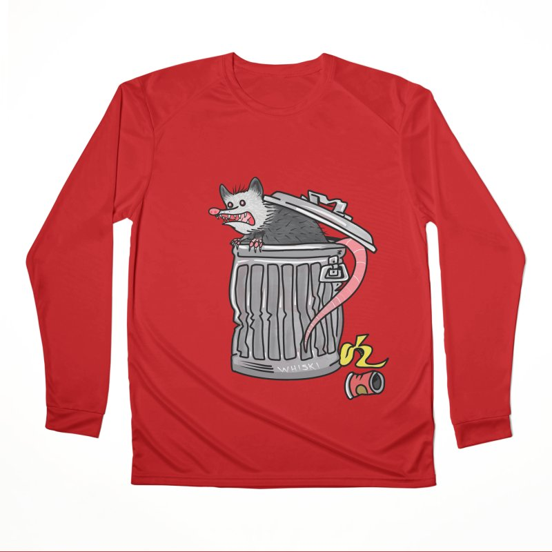 Trash Possum Women's Longsleeve T-Shirt by Whiski Tee