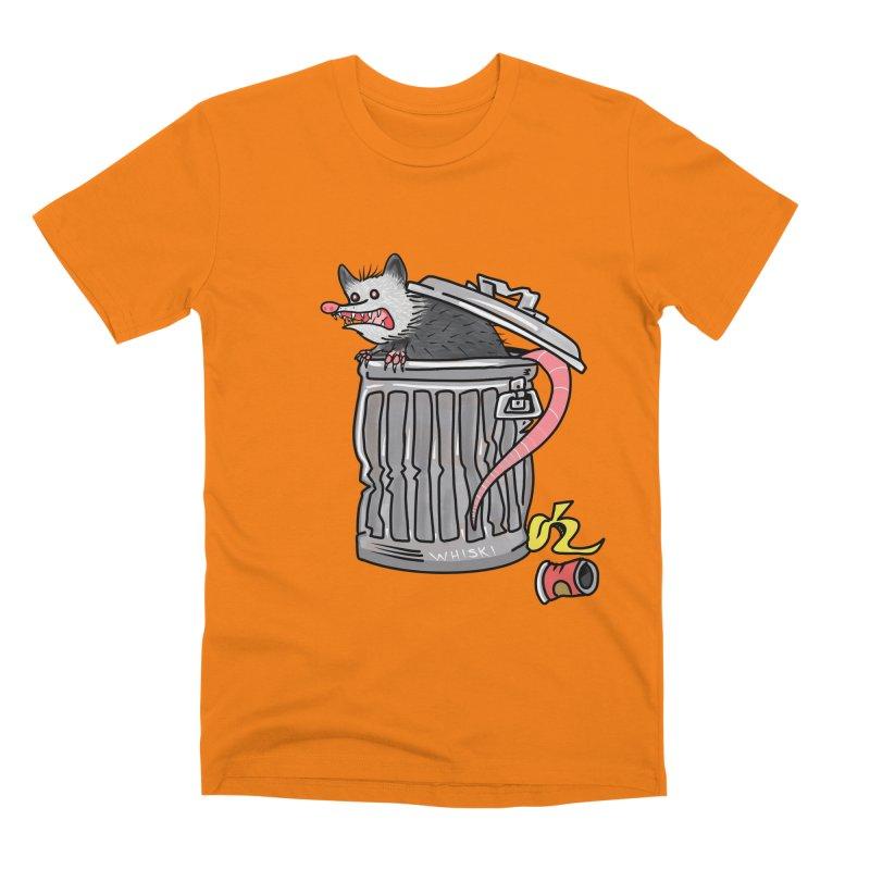 Trash Possum Men's T-Shirt by Whiski Tee
