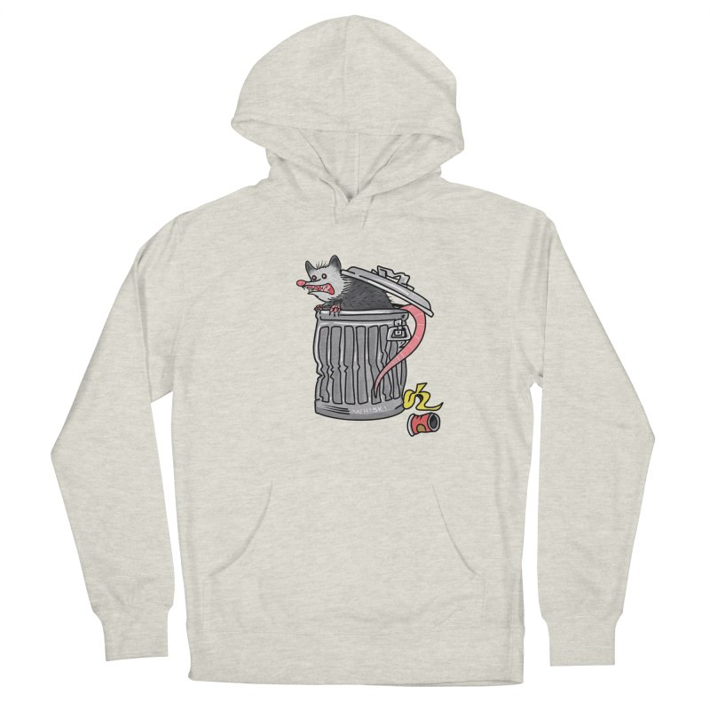Trash Possum Men's Pullover Hoody by Whiski Tee