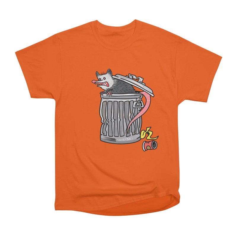 Trash Possum Women's T-Shirt by Whiski Tee