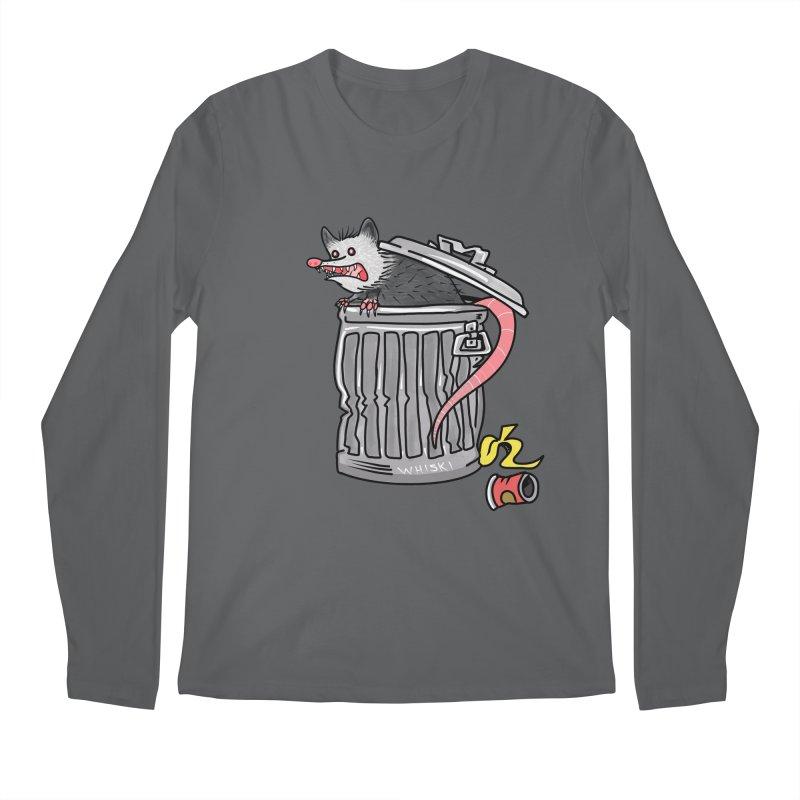Trash Possum Men's Longsleeve T-Shirt by Whiski Tee