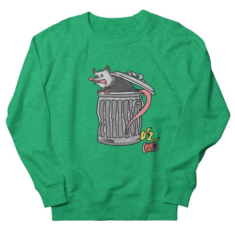 Trash Possum Women's Sweatshirt by Whiski Tee