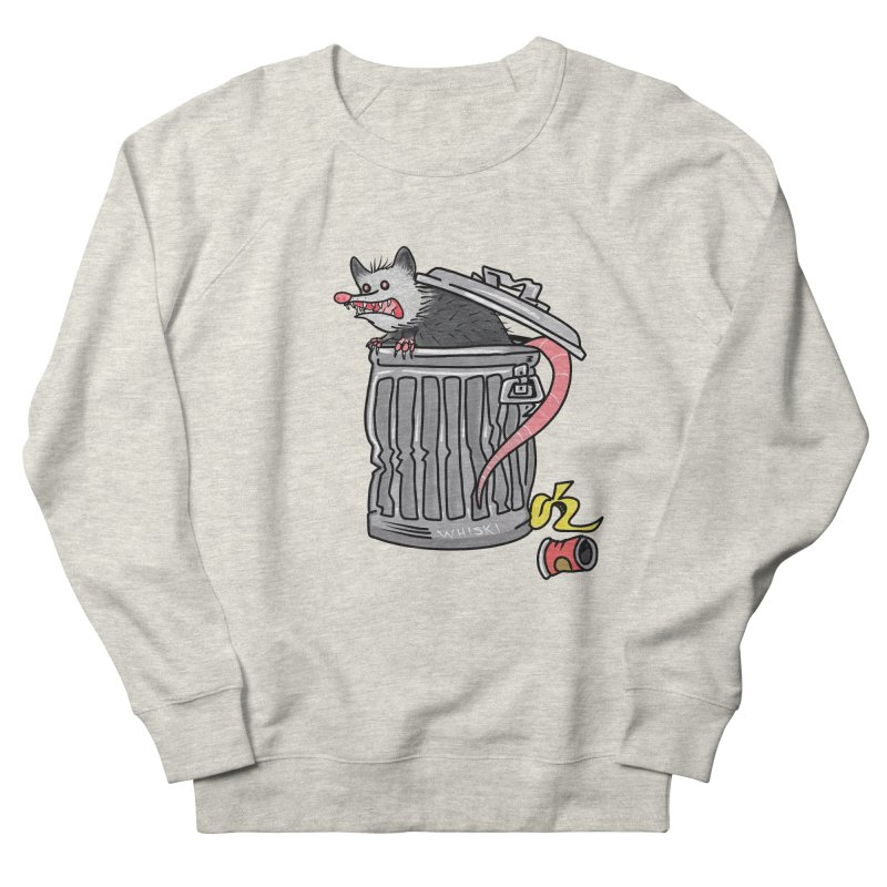 Trash Possum Men's Sweatshirt by Whiski Tee