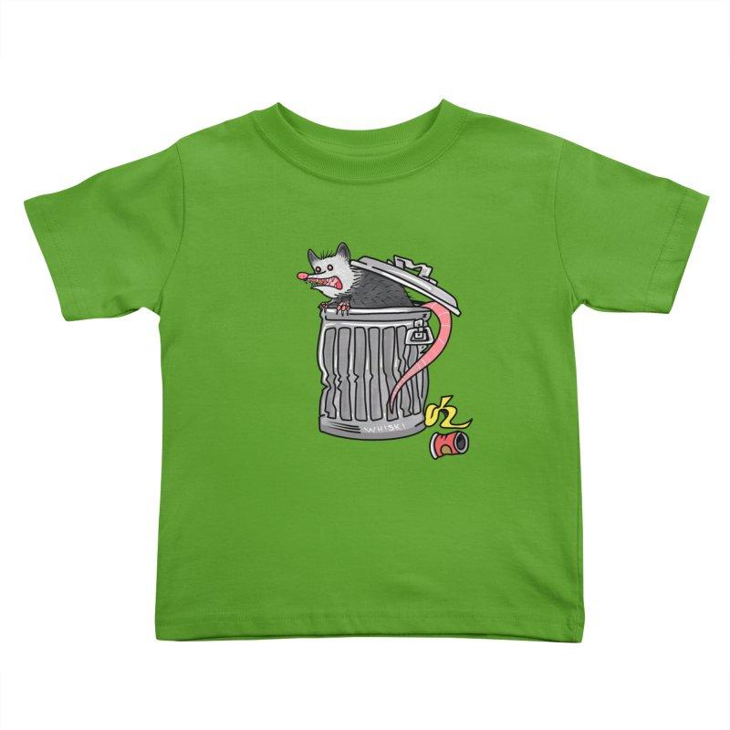 Trash Possum Kids Toddler T-Shirt by Whiski Tee