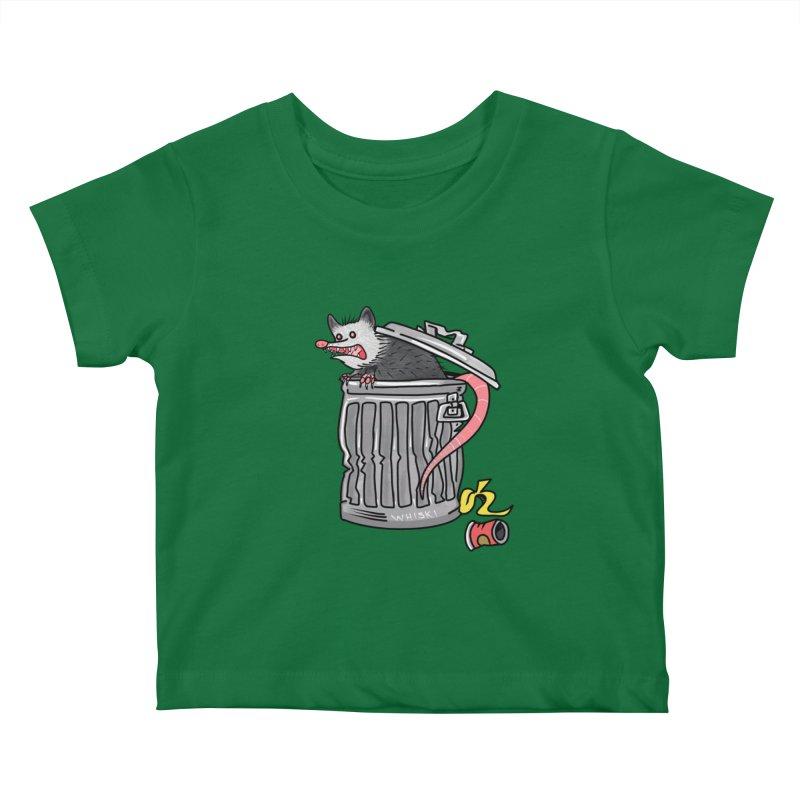 Trash Possum Kids Baby T-Shirt by Whiski Tee
