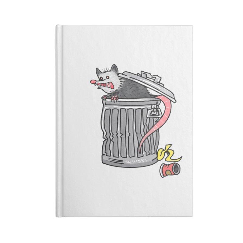 Trash Possum Accessories Notebook by Whiski Tee