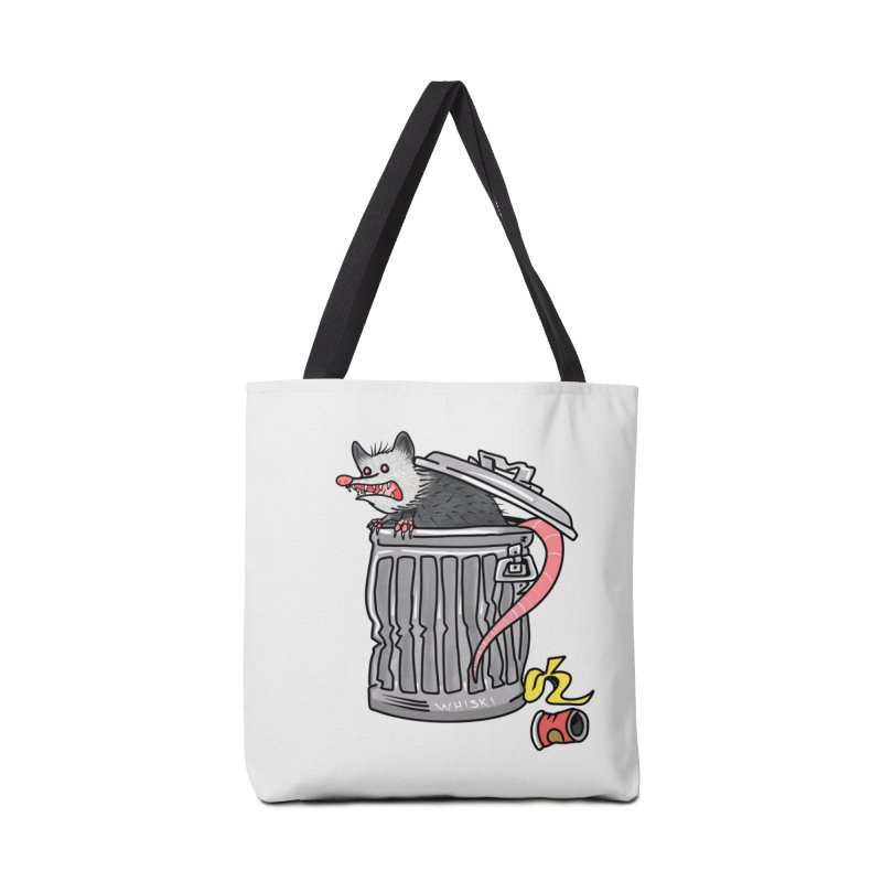 Trash Possum Accessories Bag by Whiski Tee