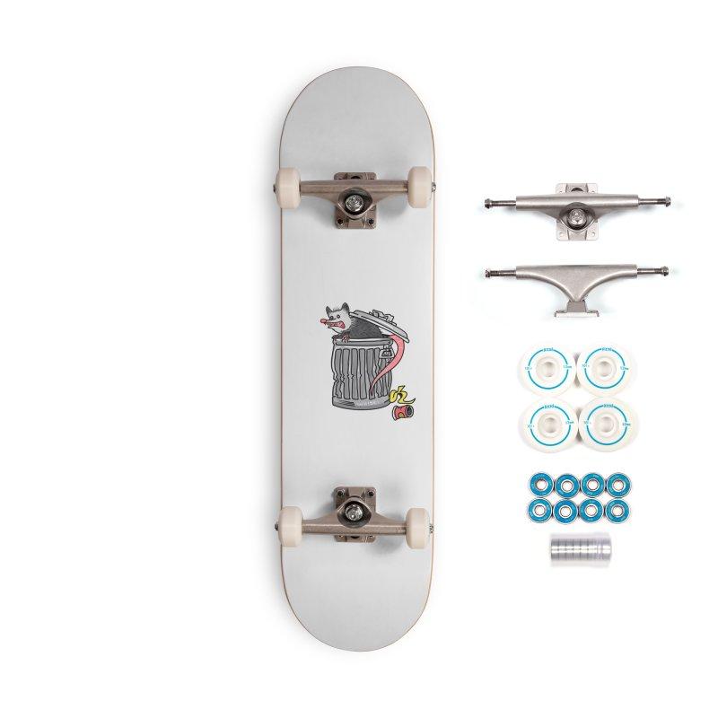 Trash Possum Accessories Skateboard by Whiski Tee