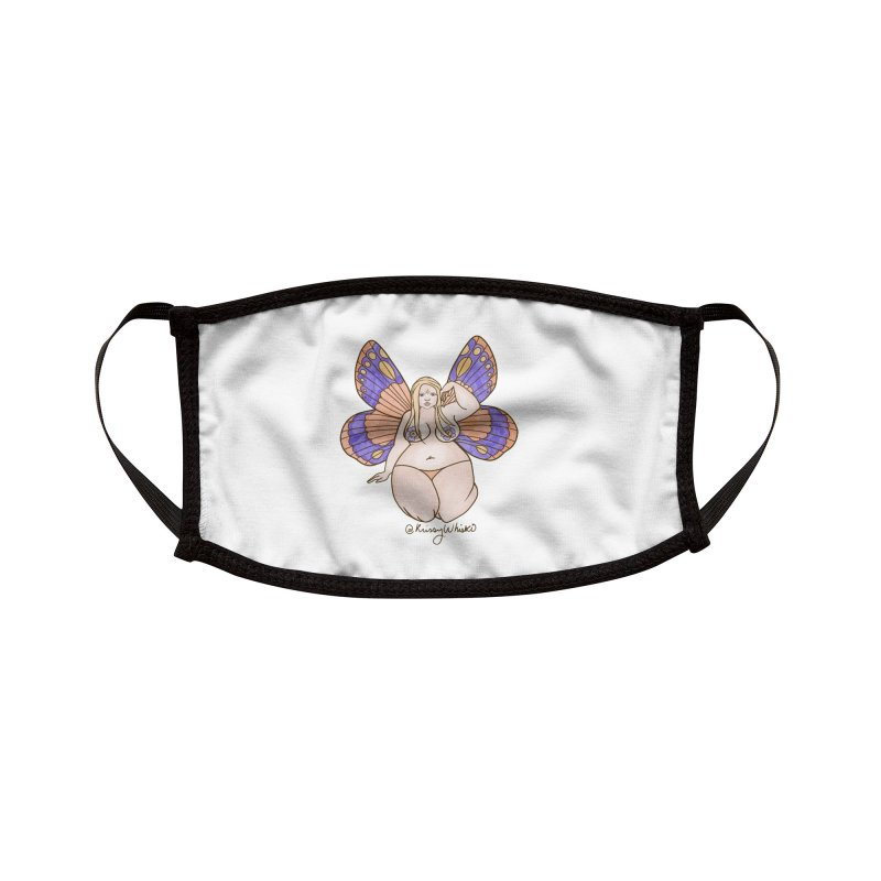 Fat Fairy Accessories Face Mask by Whiski Tee