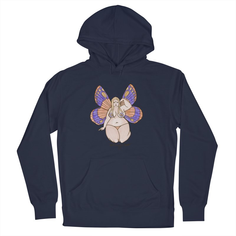 Fat Fairy Men's Pullover Hoody by Whiski Tee