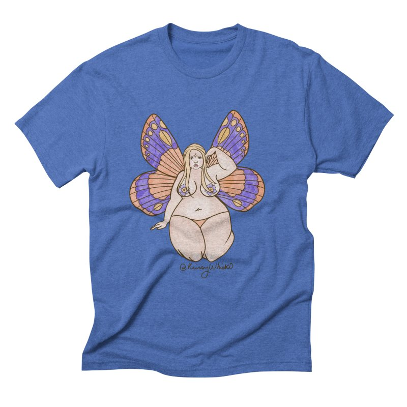 Fat Fairy Men's T-Shirt by Whiski Tee