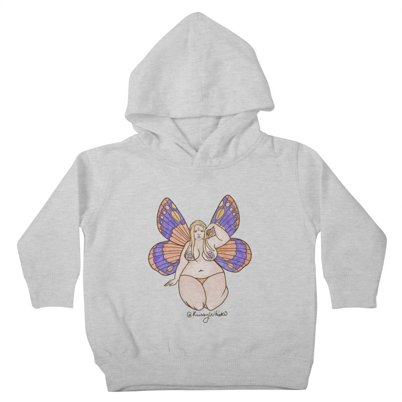 Fat Fairy Kids Toddler Pullover Hoody by Whiski Tee
